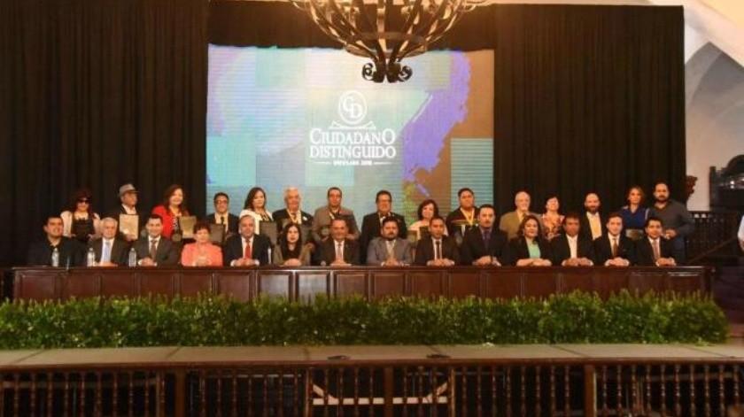 Entrega Gobierno reconocimientos Ciudadanos Distinguidos 2018