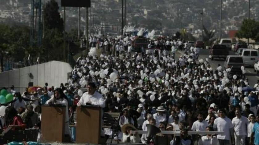 Invitan a marcha cristiana por la paz