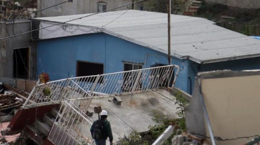 Damnificados de Lomas del Rubí gestionan apoyos