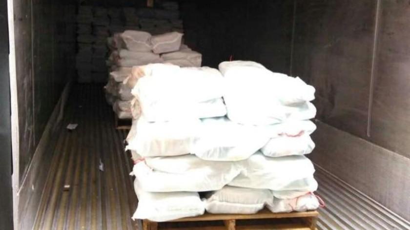 Intercepta Marina cargamento de cocaína que iba de EU a Michoacán