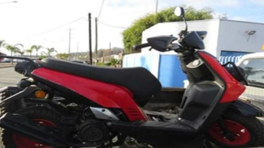Arresta PEP a sujeto en posesión de motocicleta robada