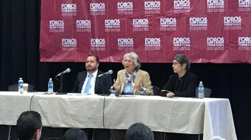 Se presenta en Tijuana propuesta para titular de Segob de AMLO