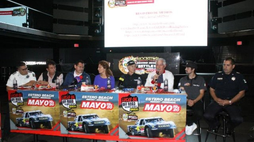 'Lucas Oil Off Road Racing Series' se realizará el próximo 20 de mayo