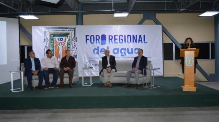 Analizan expertos situación del recurso hídrico en la región