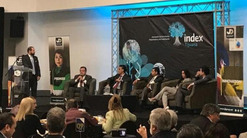 Index realiza panel sobre política comercial entre México y EU
