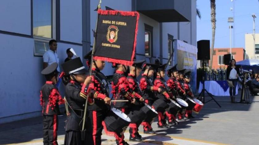 Es Rosarito sede del Concurso Regional de Escoltas y Bandas de Guerra