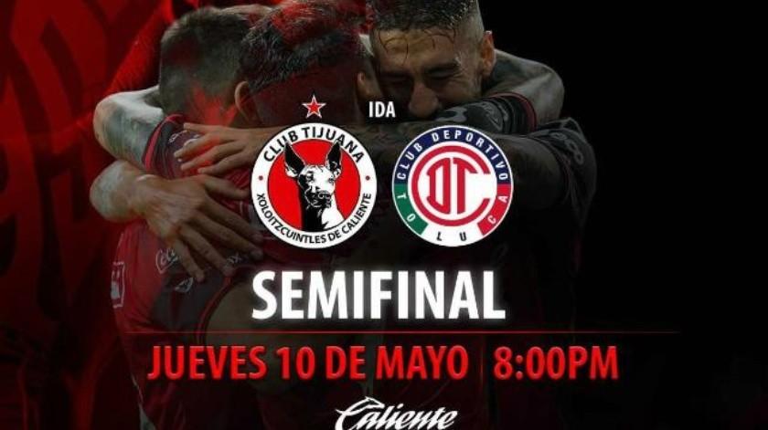 Jueves y domingo, semifinal entre Xoloitzcuintles y Diablos Rojos
