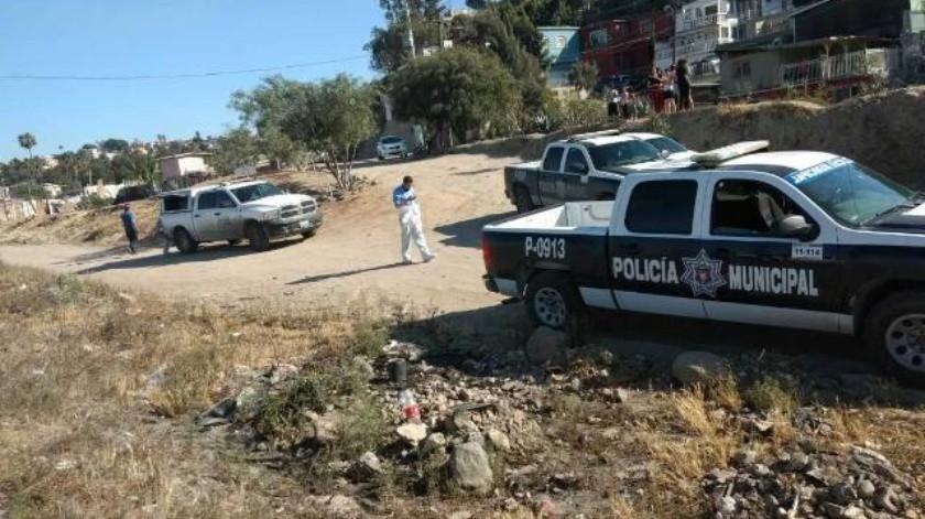 Dos baleados en Los Álamos