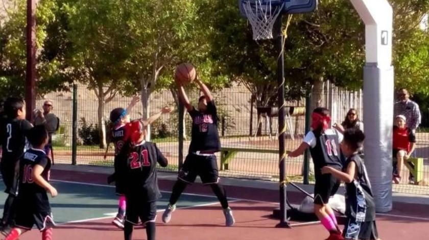 Abre convocatoria liga de basquetbol Unisantos para torneo infantil