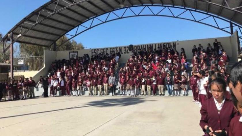 Inicia en escuelas de Rosarito colecta anual de Cruz Roja
