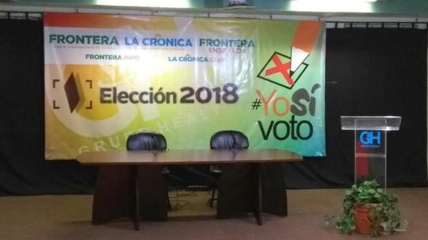 Inicia en FRONTERA foro electoral del distrito 04