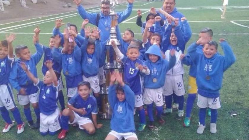 Selección Tijuana Azul  campeón estatal