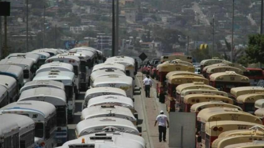 Transportistas indecisos por manifestación del 1 de mayo
