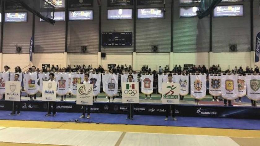 Ceremonia inauguración de Campeonato Nacional de Esgrima 2018