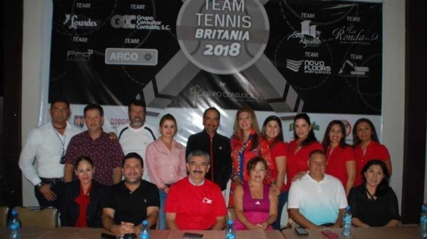 Inauguración Torneo Team Tenis