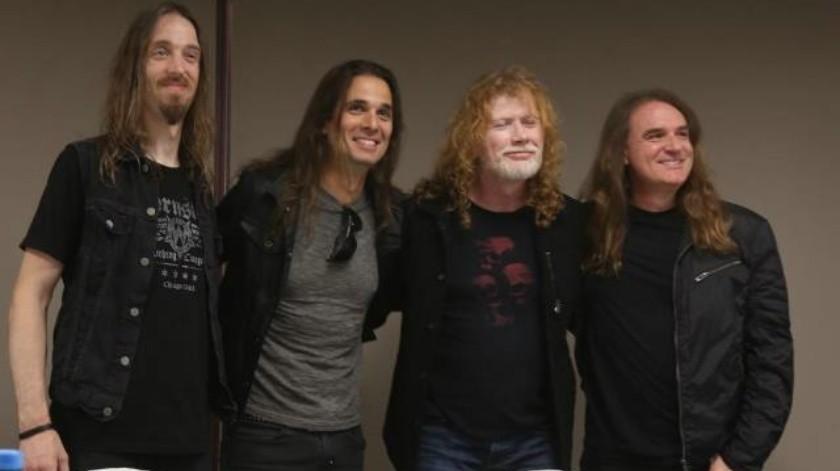 Megadeth agradecidos de regresar a Tijuana
