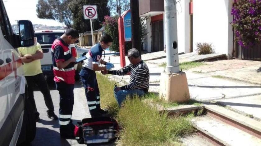 Hombre atropellado en Ensenada