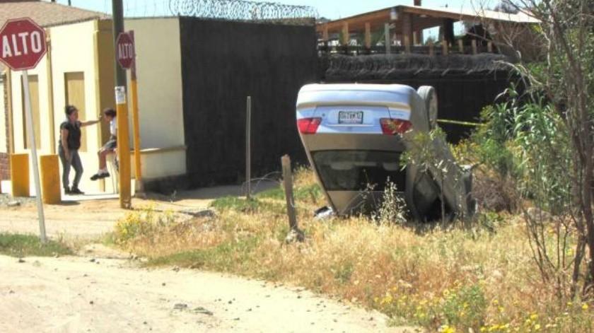 Menor de edad pierde la vida en fatal accidente vehicular en Ensenada