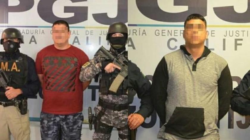 Autoridades aprehenden a dos sujetos por homicidio calificado
