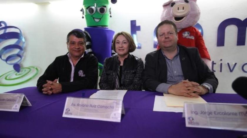 Firma convenio Florido Abarrotes y Carnes con 'El Trompo'