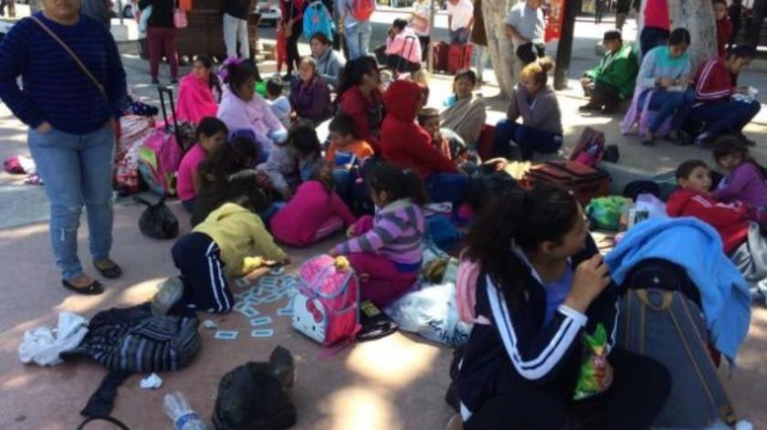 Buscan migrantes mexicanos asilo humanitario en EU
