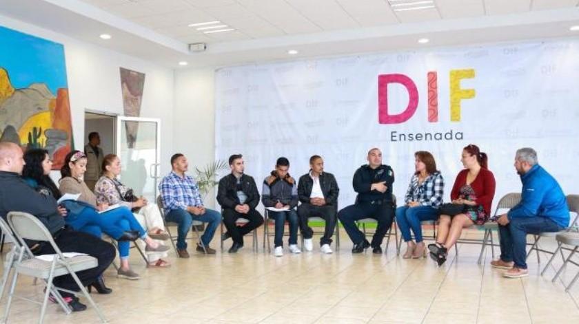Trabaja  DIF Municipal  con Centros de Rehabilitación de Ensenada