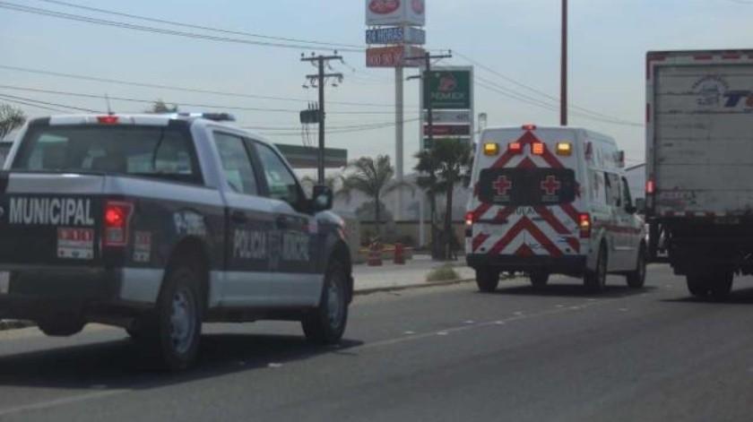 Lesionan a hombre a tiros en carretera libre Tijuana-Tecate
