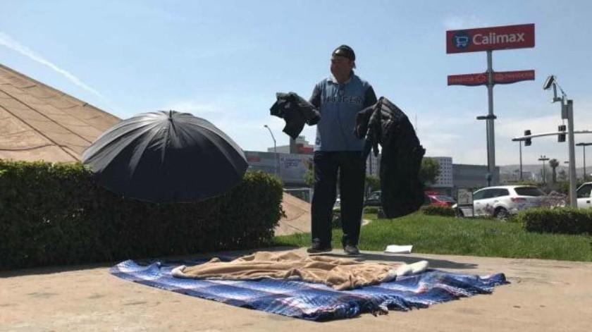 Afectado de Lomas del Rubí anuncia huelga de hambre