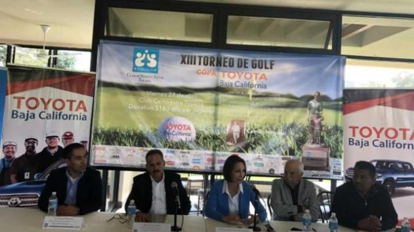Anuncian torneo de golf del Club de Niños y Niñas de Tijuana
