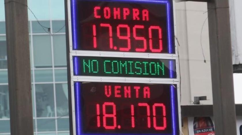 Dólar rozará los 18 pesos esta semana