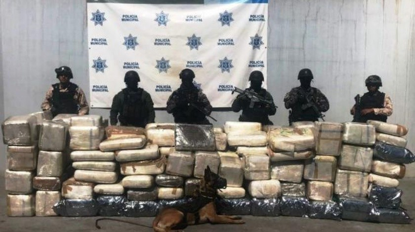 Más de 1 tonelada de mariguana es asegurada en Otay