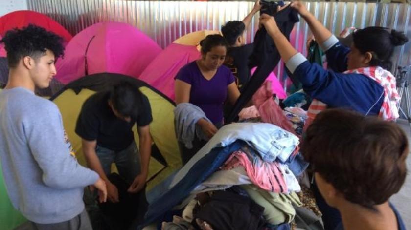 Sin condiciones para atender a la caravana de migrantes