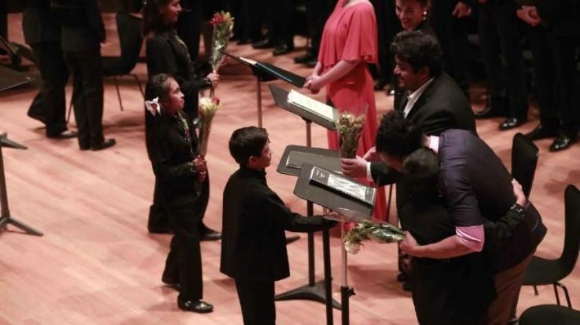 Niños de Oaxaca y coro francés sorprenden en concierto
