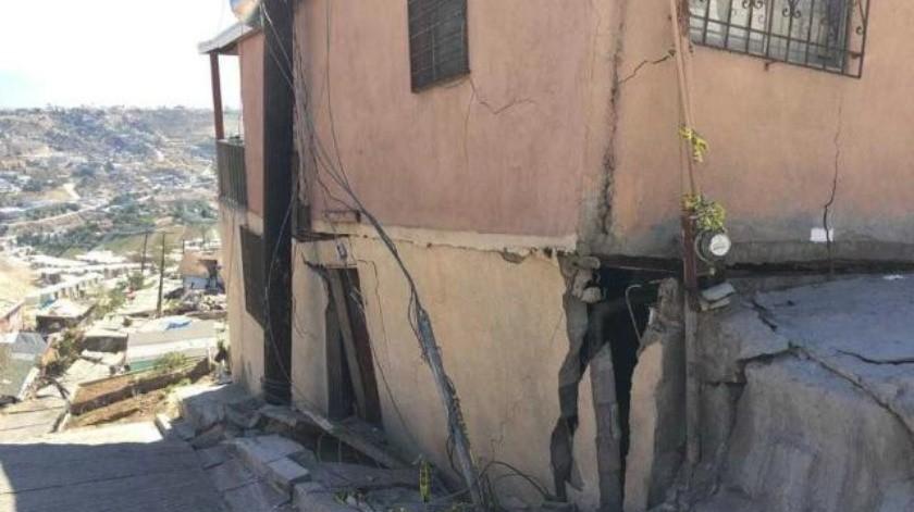 Registran nuevos deslizamientos en Lomas del Rubí