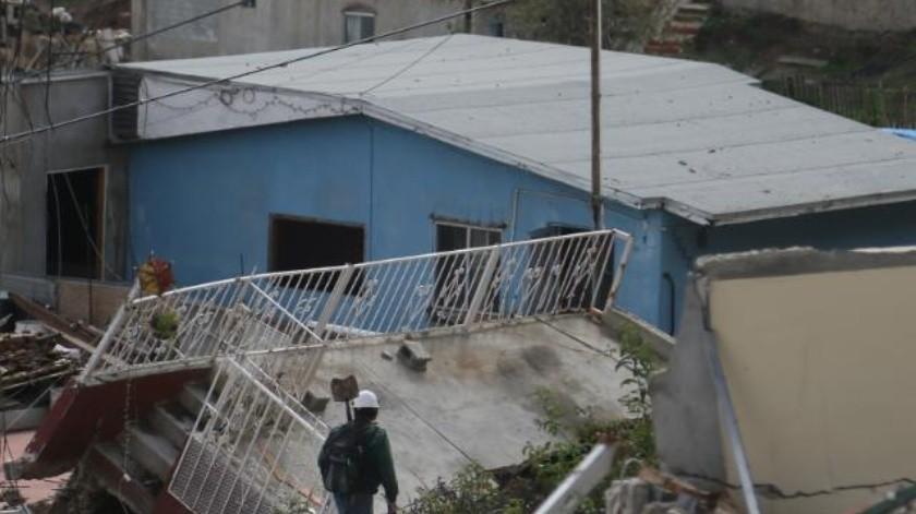 Listo el 20 de abril dictamen sobre hundimiento en Lomas del Rubí