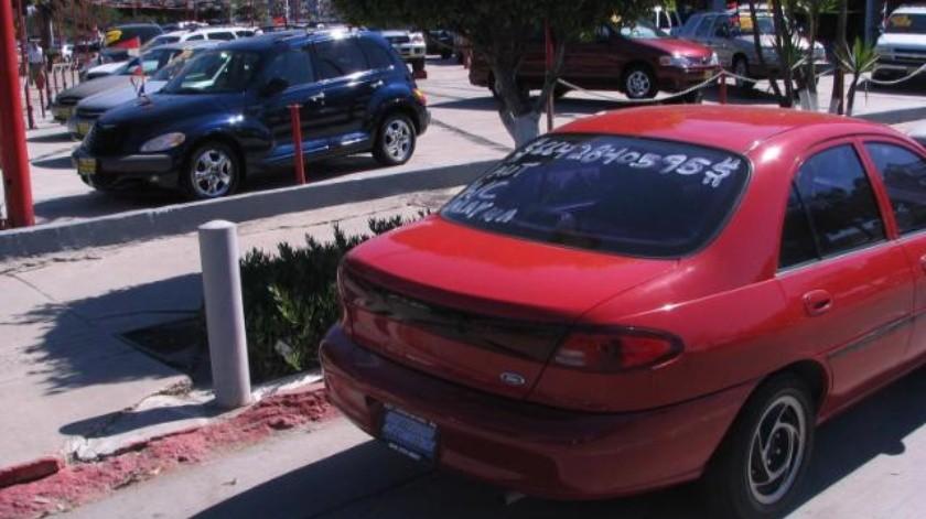 Cae 60% en Tijuana importación de autos en los últimos 4 años