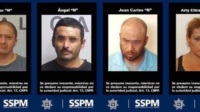 Detienen a 4 personas que eran buscadas por homicidio