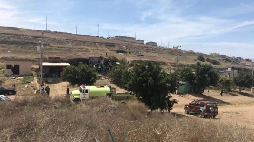 Hombre pierde la vida en un incendio en Rosarito