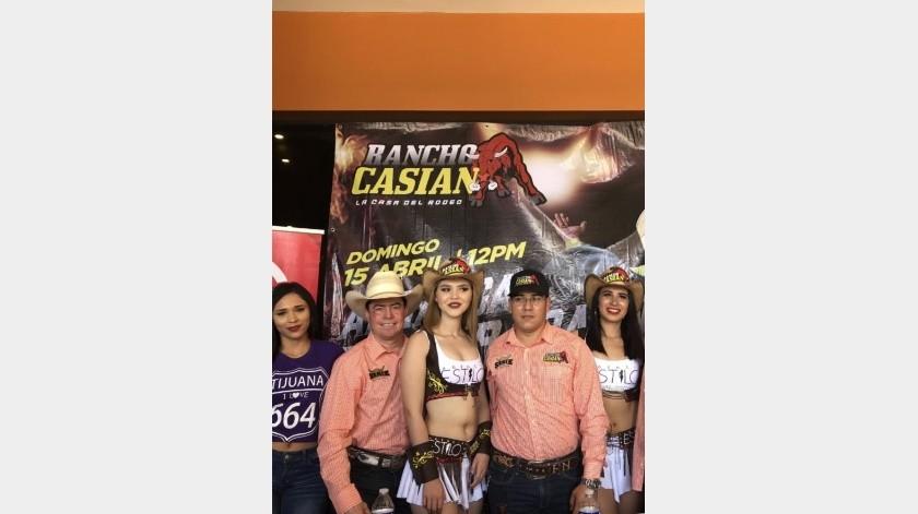 Presentan temporada de La Casa del Rodeo del Rancho Casián