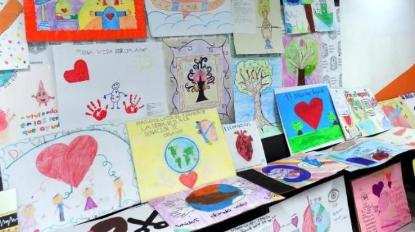 Fomentan donación de órganos a través de dibujos infantiles