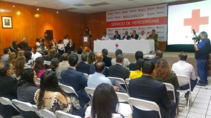 Inaugura Cruz Roja sala de hemodinamia