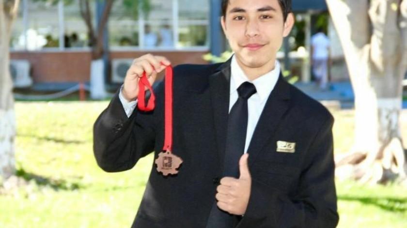 Trae joven medalla de bronce a Sonora por diseño de software