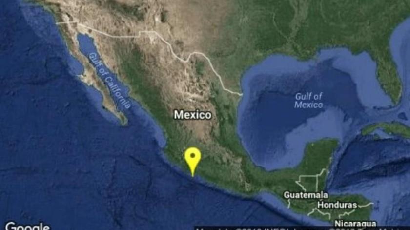 Reportan sismo en Michoacán
