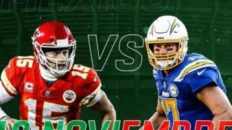 Con el partido entre Chiefs y Chargers, México tendrá el segundo Monday Night Football