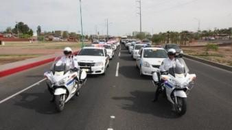 Participan 350 elementos de seguridad pública en operativo Semana Santa