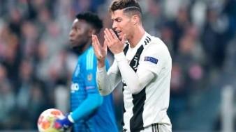 ¡Dolorosa primera vez! Cristiano Ronaldo cierra la peor Champions de su carrera