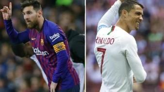 ¿Avalancha de plagios? así unieron sus bocas Messi y Ronaldo