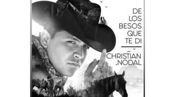 Promueve Christian Nodal nuevo sencillo y video 'De los besos que te di'