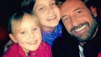 Lanza indirecta Gabriel Soto a Geraldine Bazán al compartir imagen con sus hijas