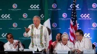 AMLO dice que Donald Trump está dispuesto a invertir en el tren maya